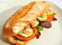 Künstliches Nahrungsmittelkonzept Stockbild