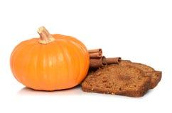Kürbis-Brot Stockbilder