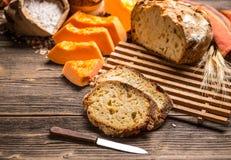 Kürbis-Brot lizenzfreies stockfoto