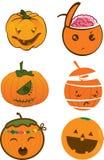 Kürbis für Halloween lizenzfreie abbildung