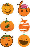 Kürbis für Halloween Stockfotos