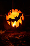 : Kürbis Halloween Stockfotos