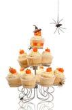 Kürbis-kleine Kuchen Stockfoto