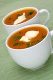 Kürbis-Suppe Stockbilder
