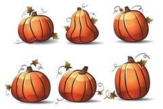 Kürbise für Halloween vektor abbildung