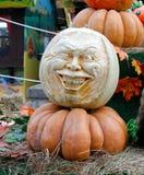 Kürbise am goldenen Herbst des Festivals lizenzfreie stockbilder