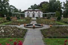Kürbisgarten Stockbild
