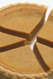 KürbisKreisdiagramm eins Lizenzfreies Stockbild