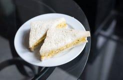 Kürzlich gemachte Club Sandwiche stockfotografie