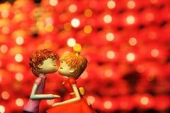 Küssen der Paare lizenzfreies stockbild
