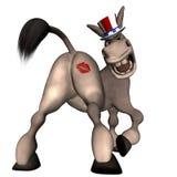 Küssen Sie meinen Esel Lizenzfreies Stockfoto