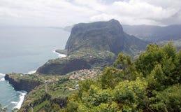 Küste östlich Madeiras Stockbilder