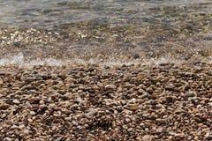 Küste, adriatisches Meer Stockfoto