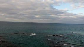 Küste in Alexandria lizenzfreies stockbild