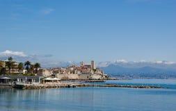 Küste Antibes Stockfotos