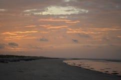 Küste auf Sullivans Insel lizenzfreies stockfoto