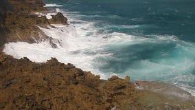 Küste in Baracoa stock video