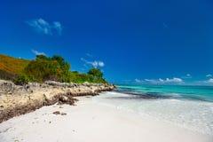 Küste bei Bahamas Stockfotografie