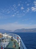 Küste bei Ithaka, Griechenland Stockbilder