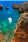 Küste bei Portugal Stockbild