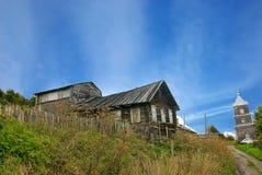 Küste-Bewohner Häuser Stockfoto