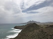 Küste Cabo De-Gata Stockbilder