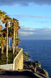 Küste Callao Salvaje in Adeje Teneriffa Stockbilder