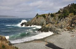 Küste-Chalet Lizenzfreie Stockfotos
