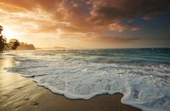 Küste in Costa Rica lizenzfreies stockfoto