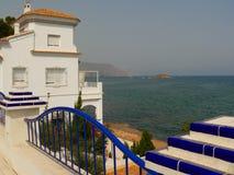 Küste der Costa Brava in Spanien Stockfotografie