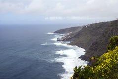 Küste der Insel von Teneriffa Lizenzfreies Stockfoto