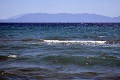 Küste des Ägäischen Meers Lizenzfreie Stockbilder