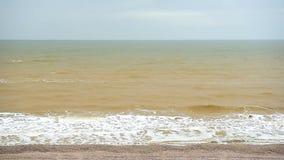 Küste des Asowsches Meers stock footage