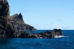 Küste des Atlantiks Stockfotografie