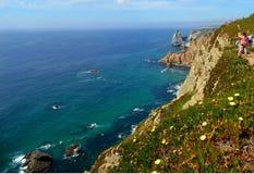 Küste des Atlantiks Stockbilder
