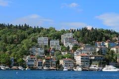 Küste des Bosphorus Lizenzfreies Stockbild
