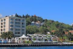 Küste des Bosphorus Stockfotografie