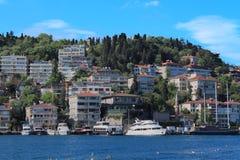 Küste des Bosphorus in Istanbul Stockfoto