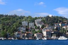 Küste des Bosphorus in Istanbul Lizenzfreie Stockbilder