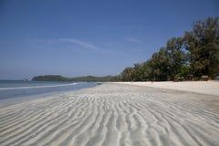 Küste des Indischen Ozeans Lizenzfreies Stockfoto