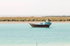 Küste des Persischen Golfs Stockfoto