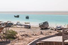Küste des Persischen Golfs Stockfotos