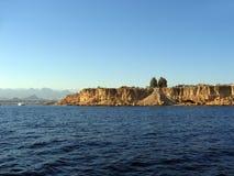 Küste des Roten Meers Stockfotos