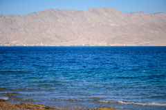 Küste des Roten Meers Stockfotografie