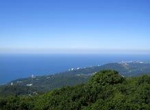 Küste des Schwarzen Meers Lizenzfreie Stockfotos