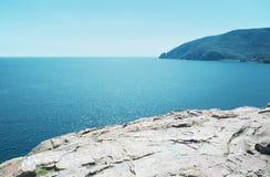 Küste des Schwarzen Meers Stockfotos