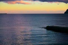 Küste des Schwarzen Meers Stockfoto