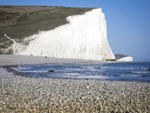 Küste England Pebble- Beachsussex Lizenzfreies Stockbild