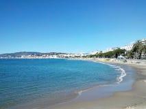 Küste in Frankreich Lizenzfreie Stockfotos