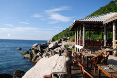 Küste-Gaststätte Lizenzfreies Stockbild